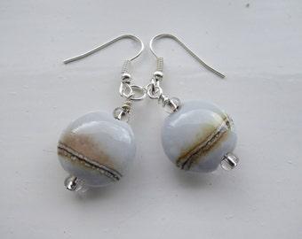 Dove Grey Earrings