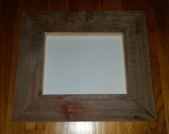 8x10 Barnwood/ Reclaimed Wood Picture Frame