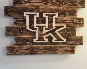 University of Kentucky wood sign