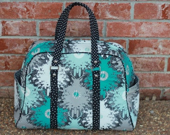 Weekend Bag or Handbag-Your Choice of Fabric Made to Order