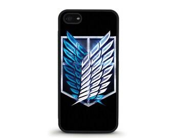 Survey Corps Shield Phone Case - iPhone 4/4s, 5/5S, 5C, 5SE, 6/6 plus, 7/7 Plus, Samsung Galaxy S4, S5, S6/edge/edge plus, S7/S7E