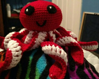 Crochet Baby Octopus Plushie
