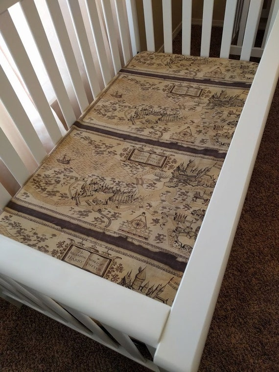 Harry potter crib bedding for mini or by riverbabysupplies on etsy - Harry potter crib set ...