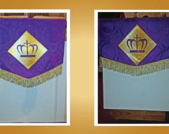 Embellished Altar & Pulpit Covering