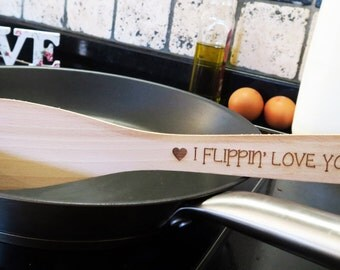 I Flippin' Love You Spatula | Cute Kitchen Gift for Loved One