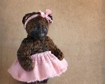 Teddy Bear SOFOCHKA.Teddy bear.Vintag teddy.Bear teddy.Old teddy bear