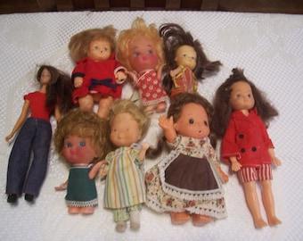 Hard Plastic Doll Made in Hong Kong