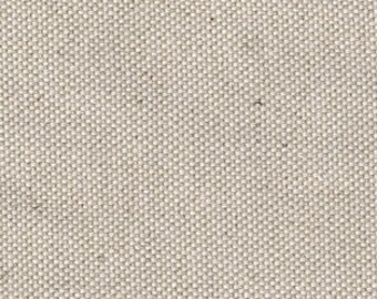 12 oz Natural Linen/Cotton Blend Fabric by the yard