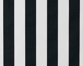 Stripe roman shade | black roman blind | canopy print roman shade  | roman shade | custom roman shade