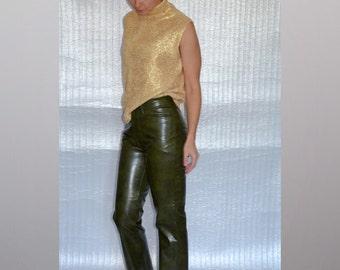 London-Jonny Q-Rome vintage faux leather trousers