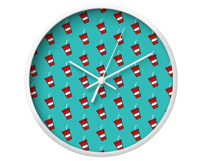 Soda Wall Clock - Icon Prints: Drinks Series