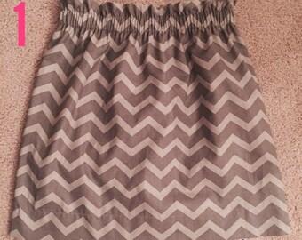 Women's Chevron Skirt