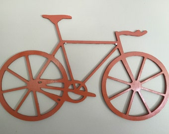 Wooden Bicycle Wall Art