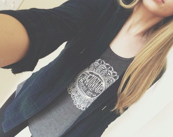 Adventure Is Out There Mandala Flowy Tank