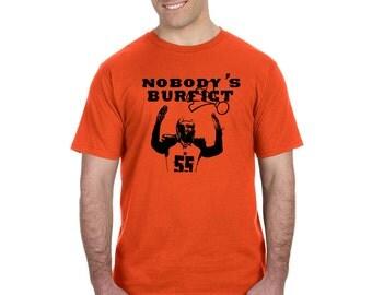 """Cincinnati Bengals """"Nobody's Burfict"""" T-Shirt"""