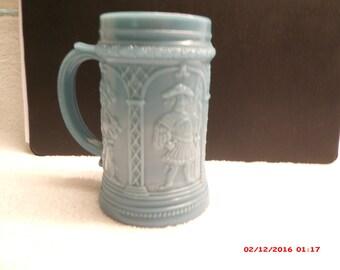 Greentown Glass Minstreal Mug before 1903