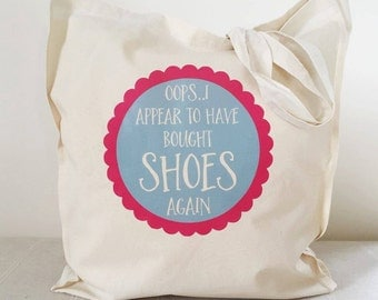 Shoe Shopper Tote Bag