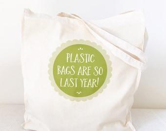 Plastic Bags Tote Bag