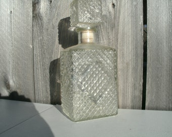 Vintage Liquor Decanter