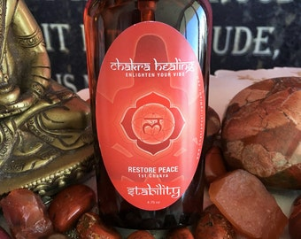Root Chakra Spray  / Aura Spray infused w/ Reiki / Aromatherapy Healing Spray