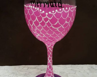 Handpainted Wine Glasses