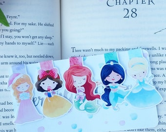 Classic Princess Magnetic Bookmarks
