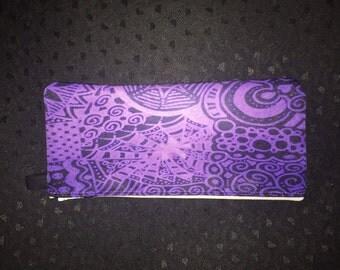 Purple Lace/Monster Pencil Cases - Original Design