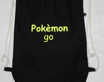 gym bag black bag Pokemon go backpack