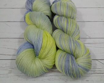 Lace Weight 55/35/10 Tencel/Alpaca/Nylon, Hand Dyed Yarn, 840 yards on 4 oz skein