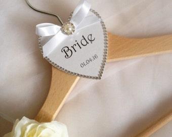 Bride Coat Hanger - Bride/Bridesmaid/Flower Girl/Mother of the Bride