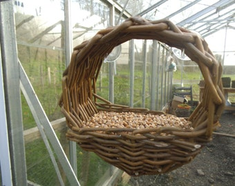 Willow window Bird Feeder