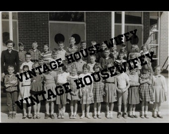 Vintage Class Picture Digital Download - High Resolution