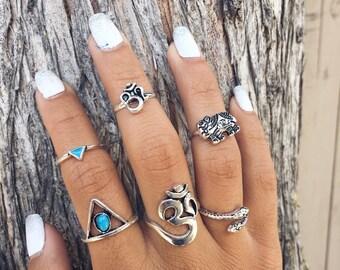 Midi Rings bohemian rings boho rings bohemian jewelry boho jewelry boho grunge