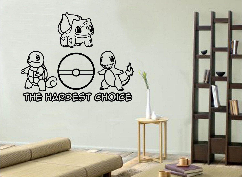 Amazing Pokemon Wall Decals Images Design Ideas Dievoon
