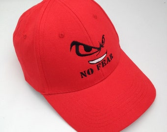 No Fear embroidered baseball Cap