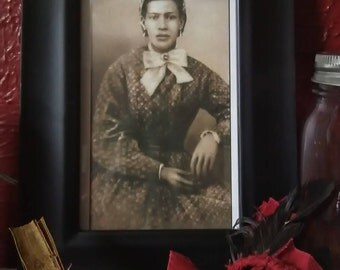 Framed Photo Of Marie Laveau