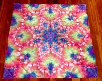 Lotus Tie Dye Tapestry