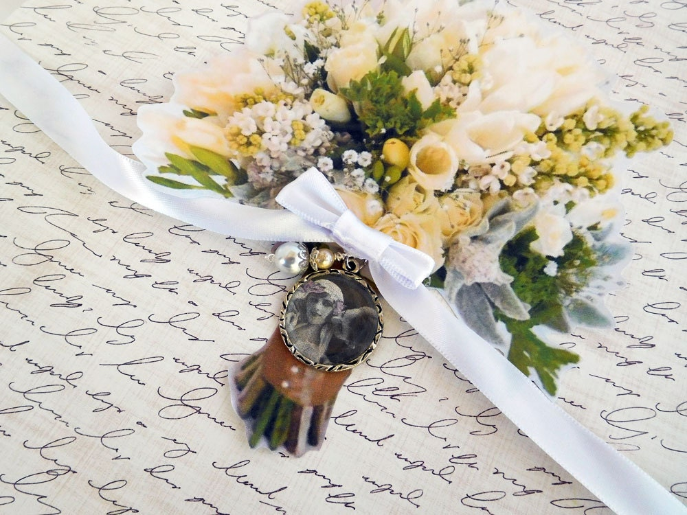 Wedding Bouquet Memory Charm Gallery Photo