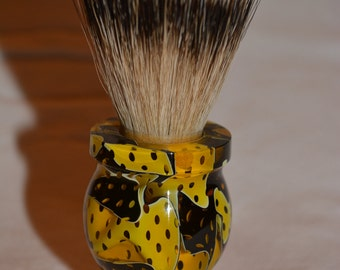 Beautiful Handmade Acrylic 100% Badger Hair Shaving Brush