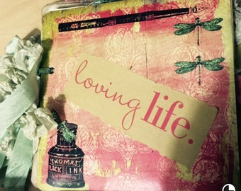 Loving Life Vintage Journal