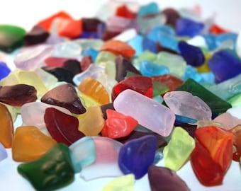 Mixed Color Large Sea Glass (1 Pound Bag) (EA)