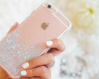 Moon light glitter iphone 7 case iphone 7 Plus case , Samsung Galaxy S7 case / S7 edge / S8 / S8 Plus , iphone 6s / 6s Plus case , iphone 6