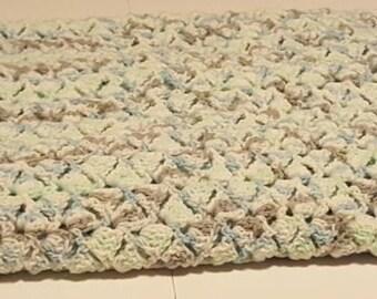Crochet baby afghan, baby blanket, crochet blanket, baby boy, handmade, baby shower, gift, shower gift, baby shower gift, boy, baby