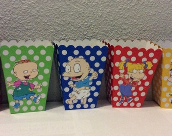 Rugrats 10pc popcorn treat boxes **free shipping**