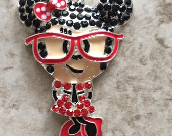 Minnie Mouse Pendant- 2 to choose from