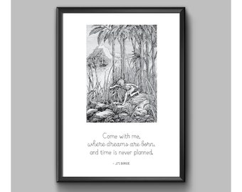Digital Print - Peter Pan - Come With Me
