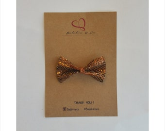 Chocolate  brown bow