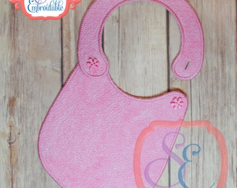 STIPPLE BIB - In The Hoop Design For Machine Embroidery
