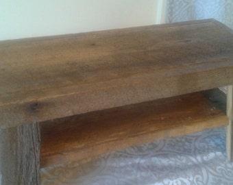 Barn Board Step Stool