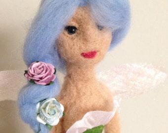 Ooak Spring Fairy Soft Sculpture